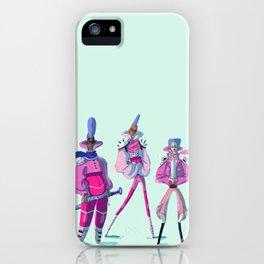 Glitter Warriors iPhone Case