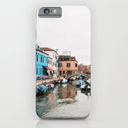 Colorfull house | Italy | Venice | Burano | travel photography  iPhone Case