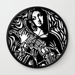 La Balada De La Dolorosa (Dry stencil version) Wall Clock