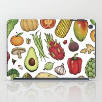 food iPad Cases featuring Food by Sam Magee