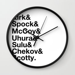 The Bridge Crew Wall Clock