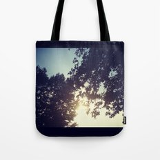 peak-a-boo sun Tote Bag