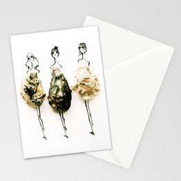 Edible Ensembles: Oysters Stationery Cards