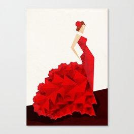 The Dancer (Flamenco) Canvas Print