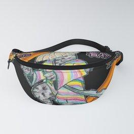 The Techni-color Kimono Fanny Pack