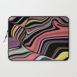 ROMA - bright bold abstract colours with black Laptop Sleeve