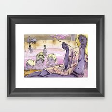 Bath House 2 Framed Art Print