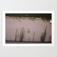 NINNIN Art Print