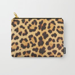 LEOPARD #real chic Carry-All Pouch