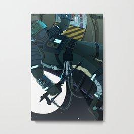 Maintenance  Metal Print