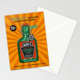 Happiness and Joy Stationery Cards