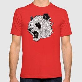 Geometric Panda T-shirt
