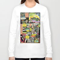 canada Long Sleeve T-shirts featuring Vivita Spa KOMIX #1 by Tex Watt