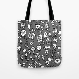Friends on the earth Tote Bag