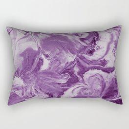 accidental iris royal Rectangular Pillow
