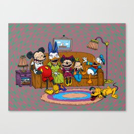 Psycouch Canvas Print