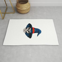 Bad And Spoopy Funny Halloween Horror Scary Rug