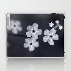 Forget me not BW Laptop & iPad Skin