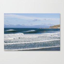 Aramoana Peaks Canvas Print