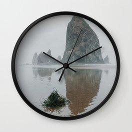 Haystack Rock- Oregon, USA Wall Clock