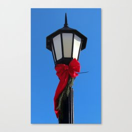 Wildwood Lightpost in Winter I Canvas Print