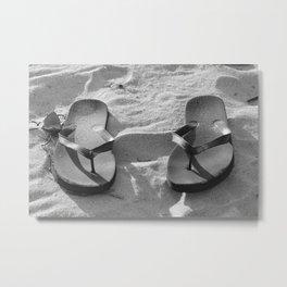 Sumner in Black and White  Metal Print
