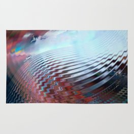 Abstract sky and water Rug