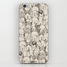 just alpacas natural iPhone & iPod Skin