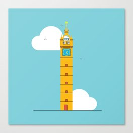 The Tolbooth Steeple Canvas Print