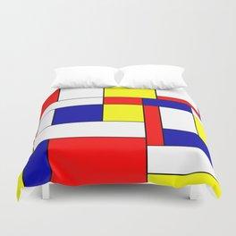 Mondrian #34 Duvet Cover