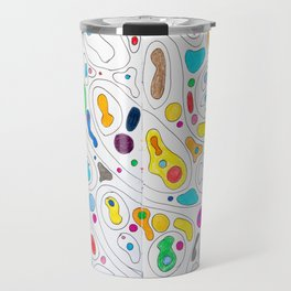 Black Rainbows Travel Mug