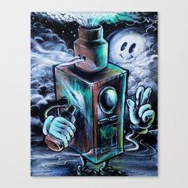 Box-clops Canvas Print