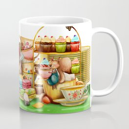 Autumn tea party #2 Coffee Mug