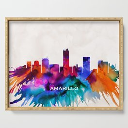 Amarillo Skyline Serving Tray