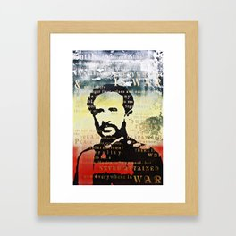 Haile Selassie War Framed Art Print