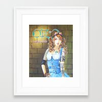 dorothy Framed Art Prints featuring Dorothy by marmaseo