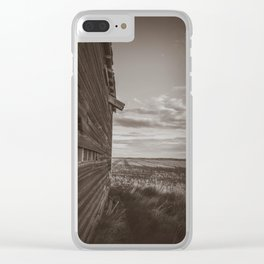 Grain Elevator 11 Clear iPhone Case