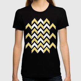 Mustard Chevron T-shirt