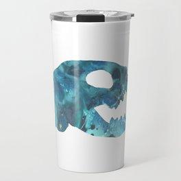 Cat Skull Art Travel Mug