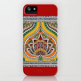 Lotus on Paan iPhone Case