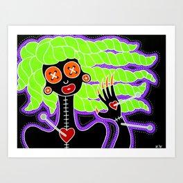 Poppet Art Print