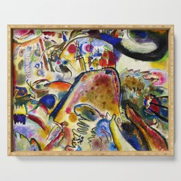 Wassily Kandinsky - Small Pleasures Serving Tray