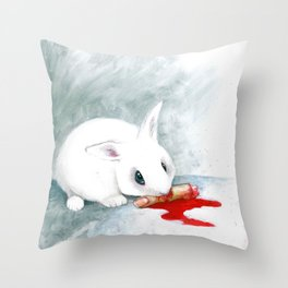 can i finish? Throw Pillow