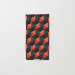 Spooky Cubes Hand & Bath Towel