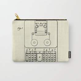 Stenotype Keyboard-1915 Carry-All Pouch