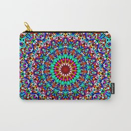 Colorful Life Garden Mandala Carry-All Pouch