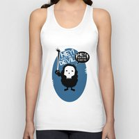 pixies Tank Tops featuring Hey! by Ryan W. Bradley
