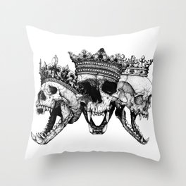 The Ancients kings Throw Pillow