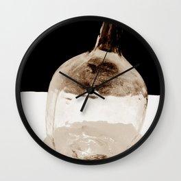 Still life (Old Canarian Glass) Wall Clock