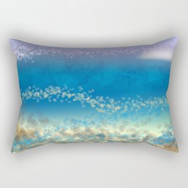 Abstract Seascape 03 wc Rectangular Pillow